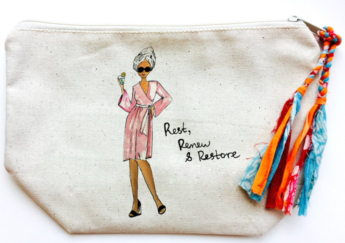 Rest, Renew & Restore Makeup Bag (Large)