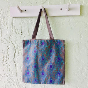 Peacock Feather Tote