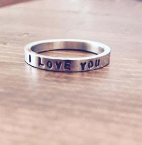 Skinny Love Stacking Rings