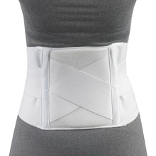 FRONT OF SACRO BRACE WITH THERMO-PAD