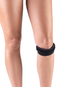 FRONT OF THERAPEUTIC KNEE GUARD