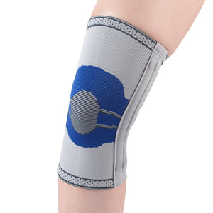 ELASTIC KNEE SUPPORT WITH FLEXIBLE STAYS