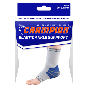 FRONT OF ELASTIC ANKLE SUPPORT PACKAGING
