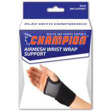 AIRMESH WRIST WRAP SUPPORT PACKAGING