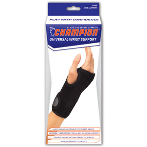 UNIVERSAL WRIST SUPPORT PACKAGING