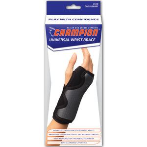UNIVERSAL WRIST BRACE PACKAGING