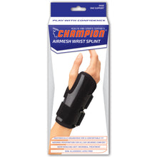 AIRMESH WRIST SPLINT PACKAGING