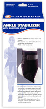 ANKLE STABILIZER WITH MEDIAL-LATERAL STAYS PACKAGING