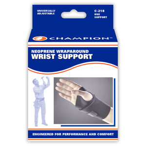 NEOPRENE WRAPAROUND WRIST SUPPORT PACKAGING