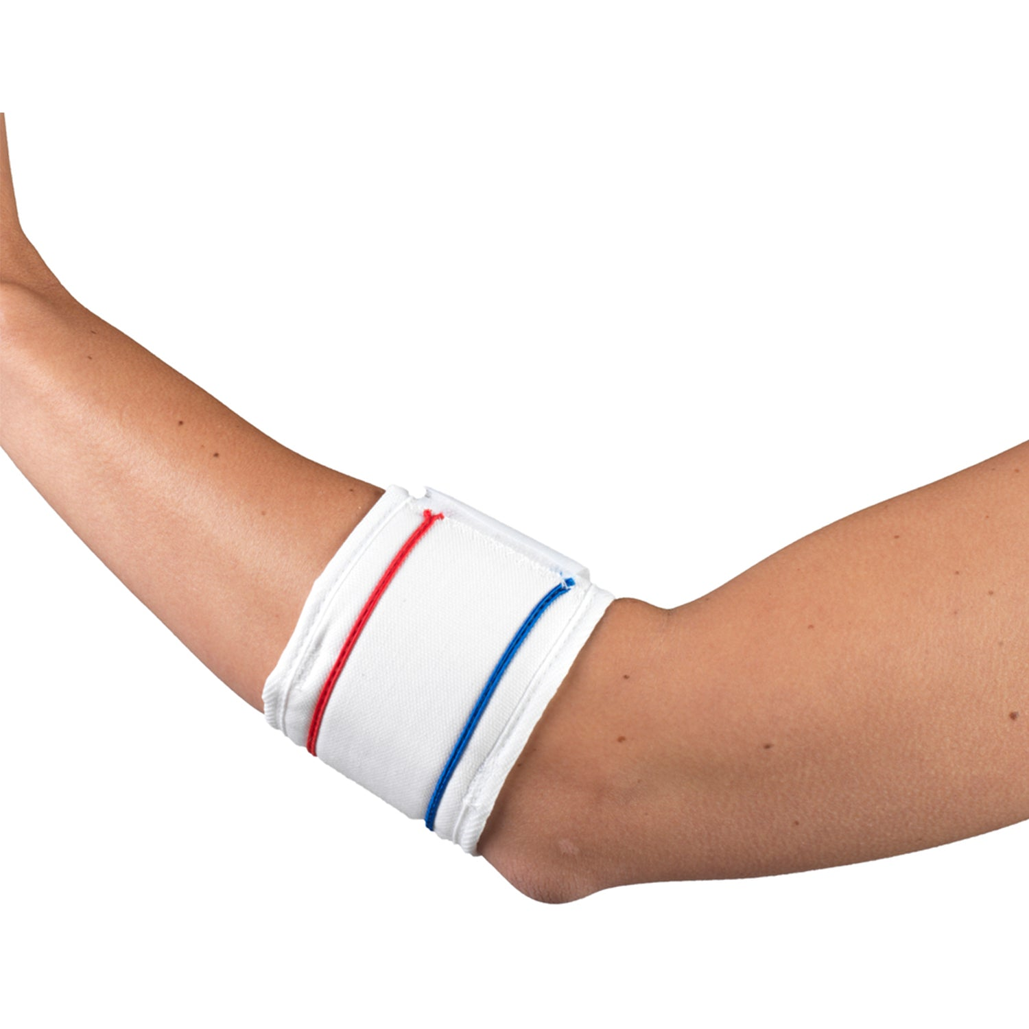 WHITE TENNIS ELBOW STRAP