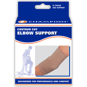 C-70-42 / CONTOUR CUT ELBOW SUPPORT / PACKAGING
