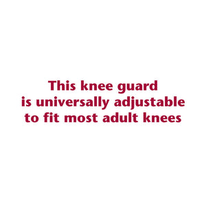 C-211 / THERAPEUTIC KNEE GUARD / SIZE CHART
