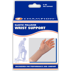FRONT OF ELASTIC PULLOVER WRIST SUPPORT  PACKAGING