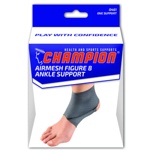 FRONT AIRMESH FIGURE 8 ANKLE SUPPORT PACKAGING