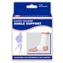 FRONT OF FIRM ELASTIC ANKLE SUPPORT PACKAGING