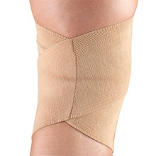 BACK OF CRISS-CROSS KNEE SUPPORT