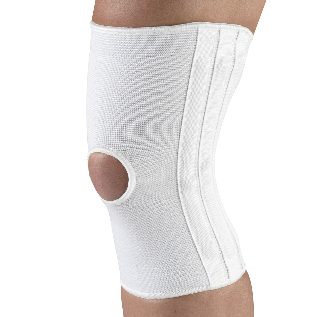 KNEE BRACE WITH FLEXIBLE STAYS