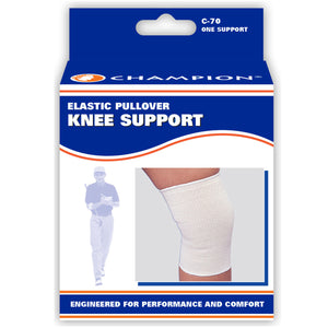 FRONT OF FIRM ELASTIC KNEE SUPPORT PACKAGING