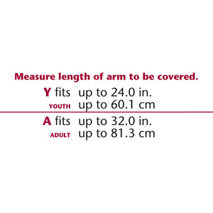 CAST PROTECTOR FULL-ARM SIZE CHART