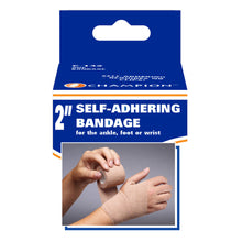 "2"" SELF-ADHERING ELASTIC BANDAGE PACKAGING"