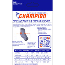 0461 / AIRMESH FIGURE 8 ANKLE SUPPORT / PACKAGING