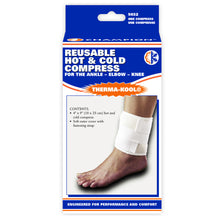 "THERMA-KOOL REUSABLE HOT / COLD COMPRESS 4"" X 9"" FOR ANKLE, ELBOW AND KNEE PACKAGING"