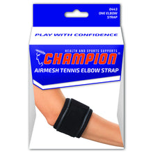 FRONT OF AIRMESH TENNIS ELBOW STRAP PACKAGING
