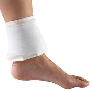 "THERMA-KOOL REUSABLE HOT / COLD COMPRESS 4"" X 9"" ON FOOT"