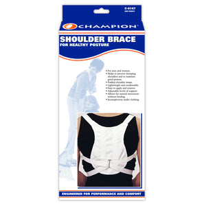 FRONT OF SHOULDER BRACE PACKAGING