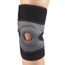 0476 / MULTILAYER KNEE WRAP WITH STABILIZER PAD