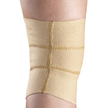 BACK OF FIRM ELASTIC KNEE SUPPORT