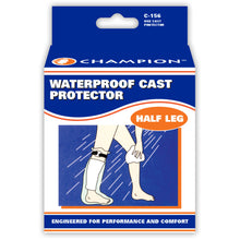 FRONT OF CAST PROTECTOR HALF-LEG PACKAGING