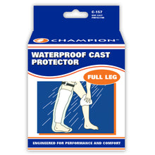 FRONT OF CAST PROTECTOR FULL-LEG PACKAGING