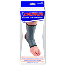 FRONT OF AIRMESH ANKLE SUPPORT PACKAGING
