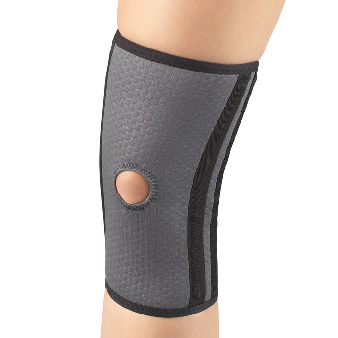 AIRMESH KNEE BRACE WITH FLEXIBLE STAYS