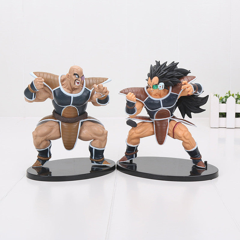Bang-Up Raditz & Nappa Budokai Collectible Action Figures