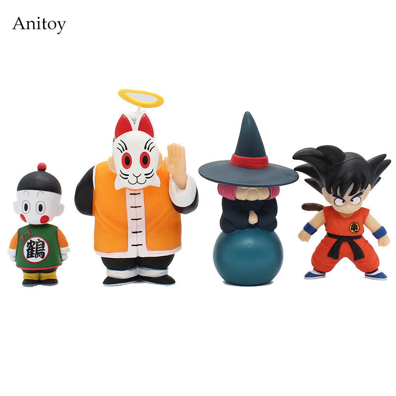 4 Piece Collectable Action Figure Set