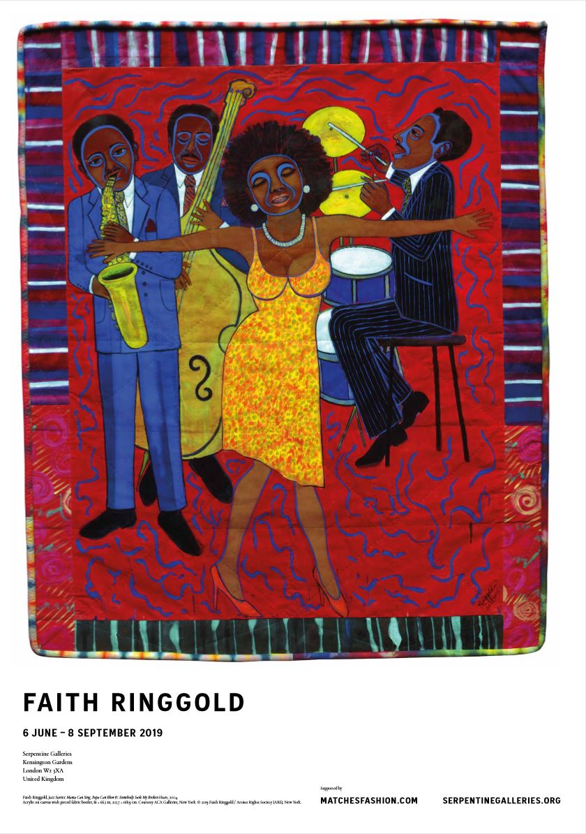 Faith Ringgold Exhibition Poster