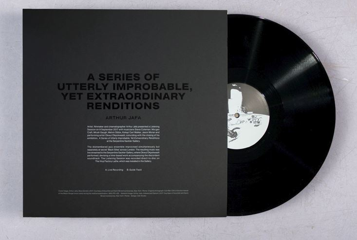 Arthur Jafa - A Series of Utterly Improbable, Yet Extraordinary Renditions Vinyl