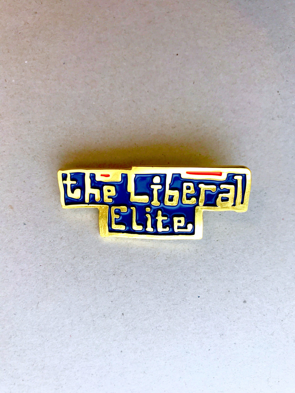 Grayson Perry, The Liberal Elite Enamel Badge, 2017