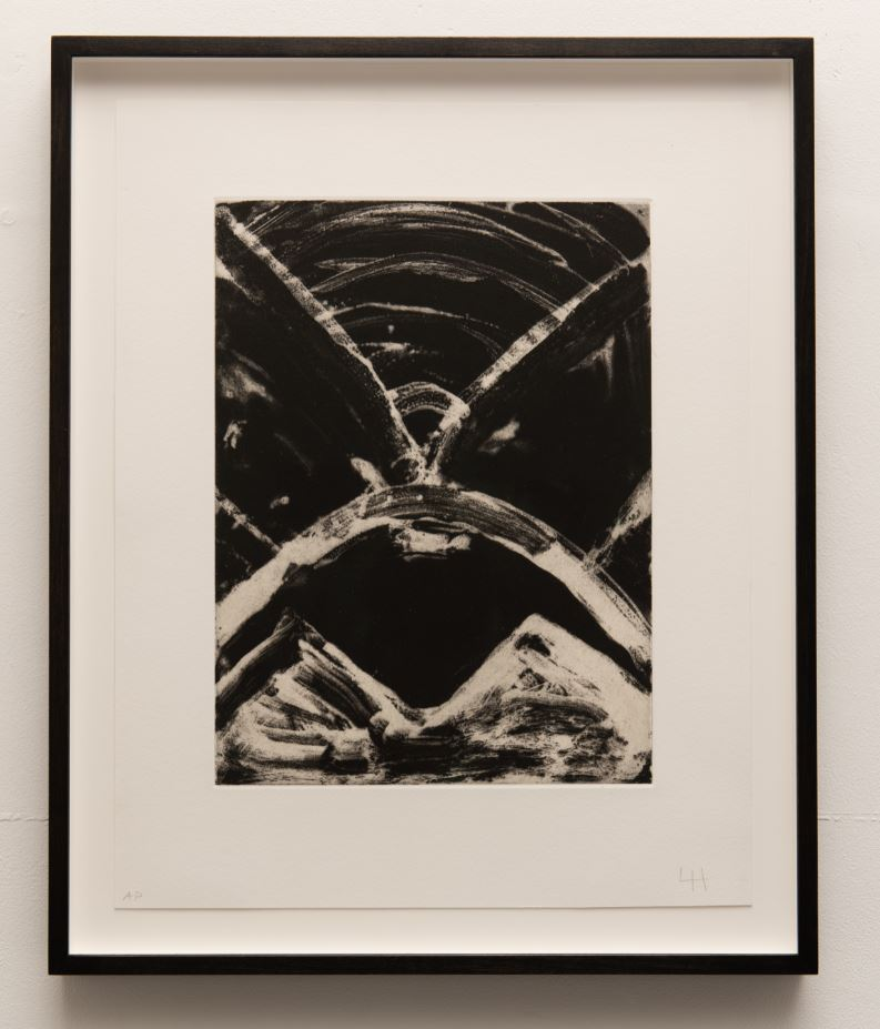 Luchita Hurtado: Untitled (Birth Print)