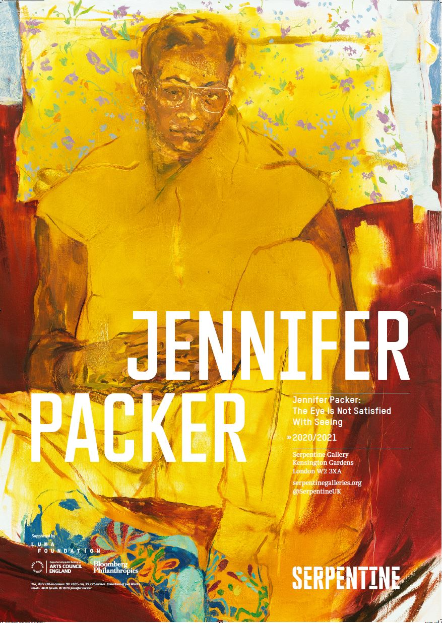 Jennifer Packer Exhibition Poster