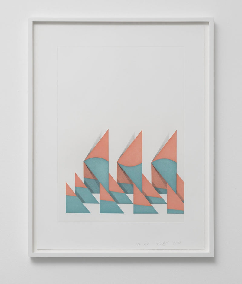 Tomma Abts: Untitled (Triangles), 2018