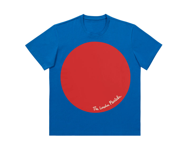 Christo and Jeanne-Claude Short Sleeve T-Shirt - Blue