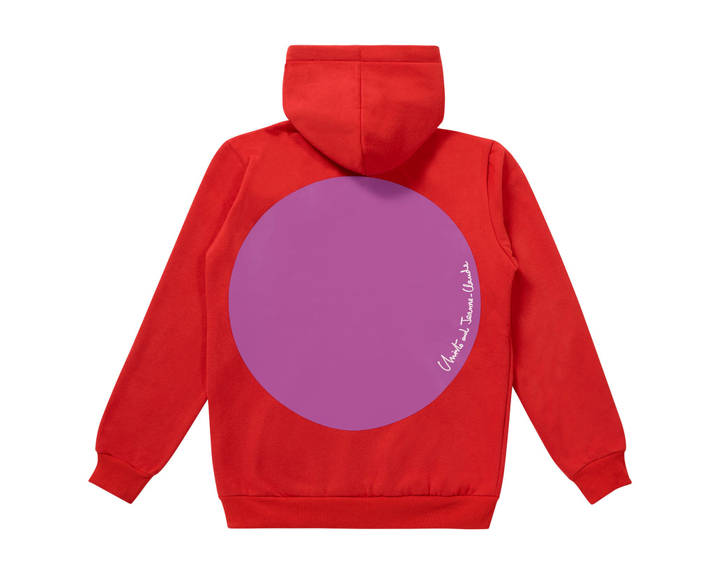 Christo and Jeanne-Claude Hoodie - Red