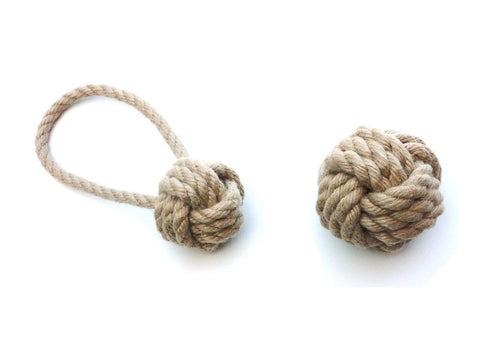 Tough Ball Rope Toy