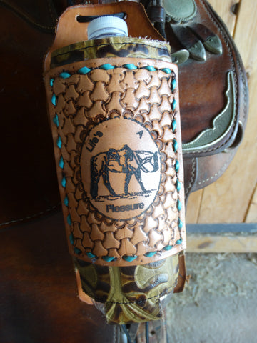 Water Bottle Holder - Laser Etched