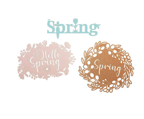 All three spring designs