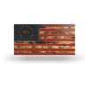 Rustic 1776 American Wood Flag