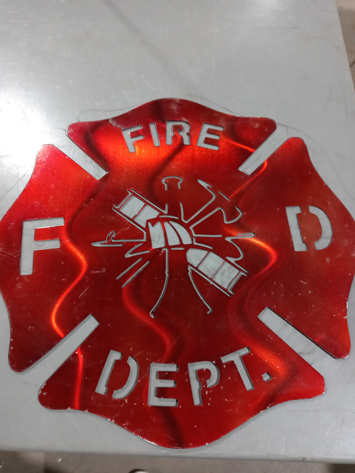 Firefighter Badge - Yard Sale Item (as is condition)